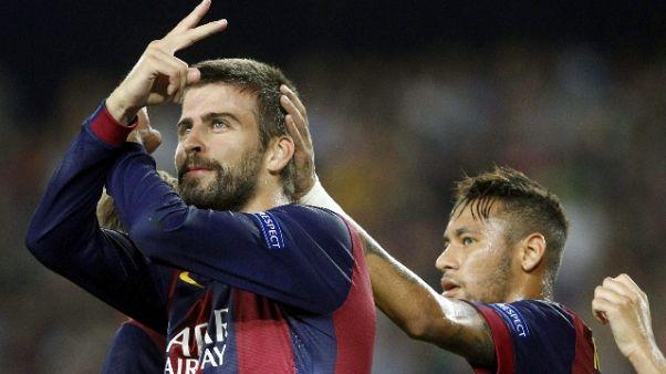 Tweet Piquè, Neymar rimane a Barcellona