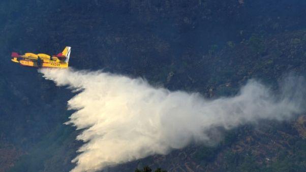 Portugal: les feux de forêt reprennent après une courte accalmie