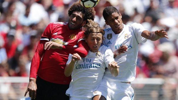 Champions Cup: Utd. piega Real ai rigori