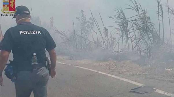 Incendio a Messina, piromani tre minori