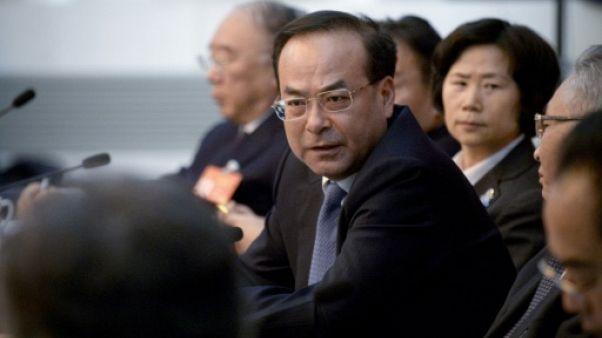 Un haut dirigeant chinois tombe pour corruption