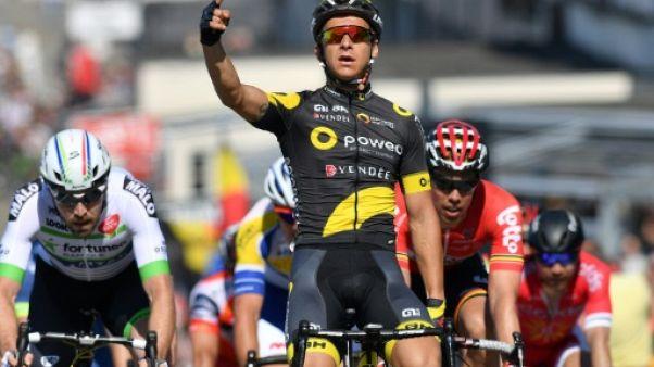 Cyclisme: Coquard en chef de file de l'équipe de France aux Championnats d'Europe