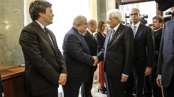 Libia: Mattarella, non basta un Paese