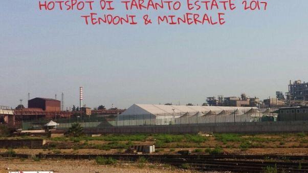 'Welcome Taranto', polveri su hotspot