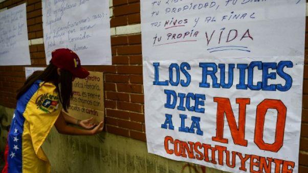 Venezuela: l'opposition se mobilise contre l'élection de la Constituante