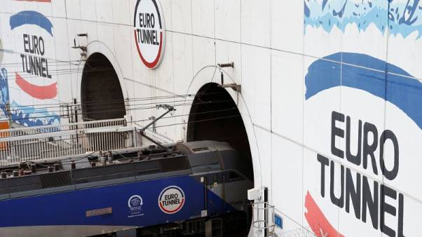 Channel tunnel operator Eurotunnel keeps profit goals despite Brexit