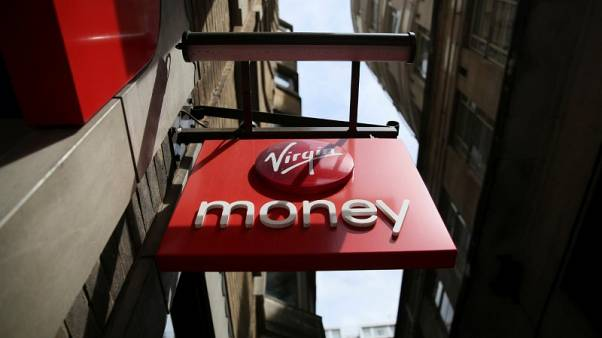 Virgin Money's first-half pretax profit up 26 percent
