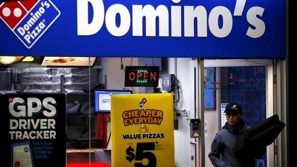 Domino's Pizza half-year profit rises 9 percent on more online orders