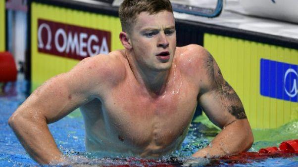 Natation: le Britannique Adam Peaty bat le record du monde du 50 m brasse (26.10)