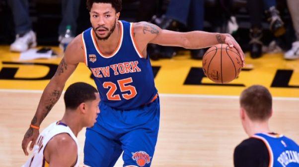 NBA: Cleveland officialise l'arrivée de Derrick Rose