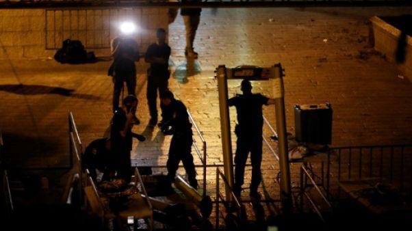 Jérusalem: Washington salue le retrait par Israël des détecteurs de métaux