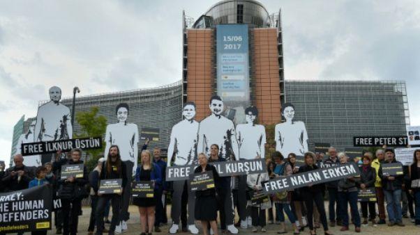 Droits de l'homme: Amnesty exhorte l'UE à faire pression sur la Turquie
