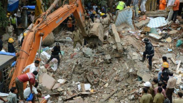 Inde : au moins six morts dans l'effondrement d'un immeuble