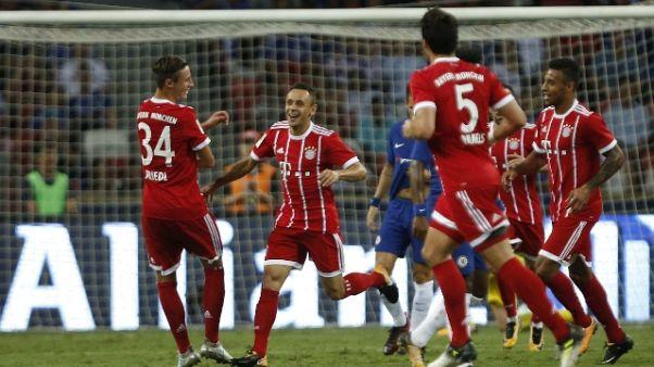 Ancelotti batte Conte,Bayern-Chelsea 3-2