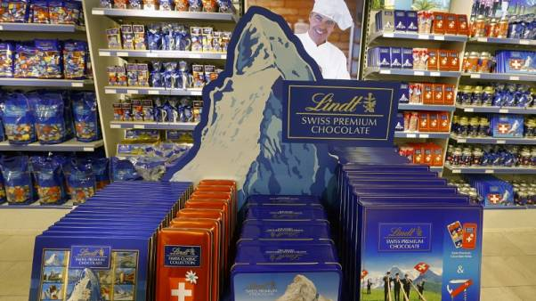 Lindt & Spruengli cuts sales outlook as North America weighs