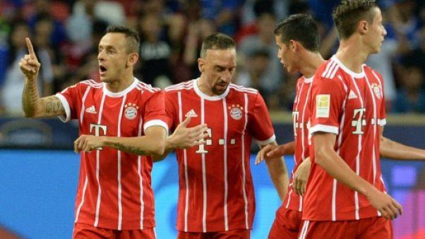 Amical: le Bayern étrille Chelsea 3-1