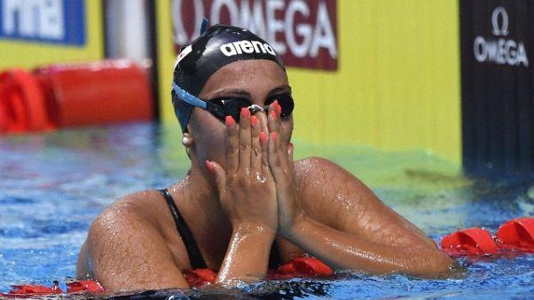 Nuoto: Quadarella, mi sembra impossibile