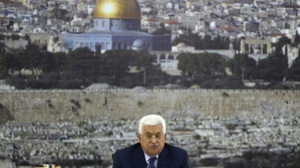 Jérusalem: les Palestiniens maintiennent le gel de la coopération avec Israël (Abbas)