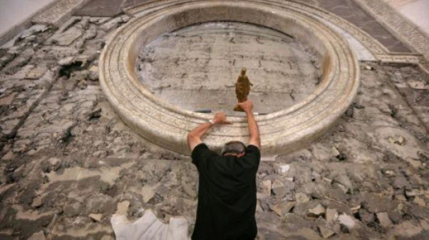A Mossoul, le cardinal Barbarin sur les traces du calvaire des chrétiens