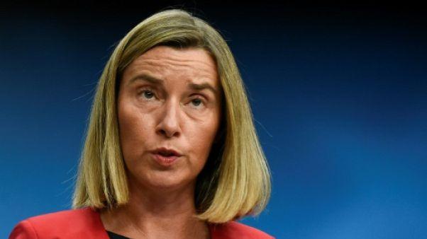 """La Turquie """"reste"""" un pays candidat à l'UE, assure Mogherini"""
