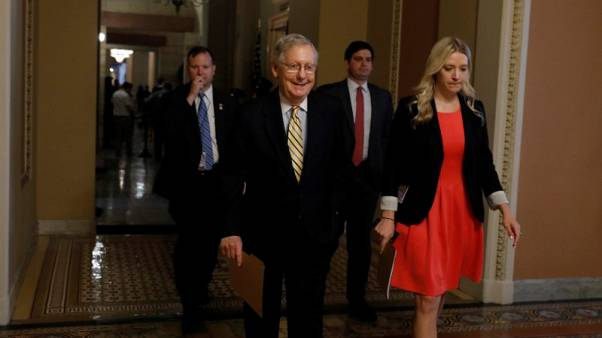 U.S. Republican Senate leader to hold healthcare vote within hours