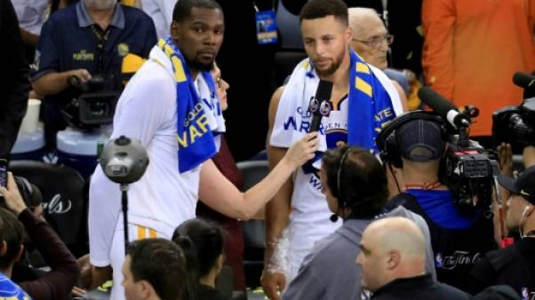 NBA: Golden State officialise les prolongations de Curry et Durant