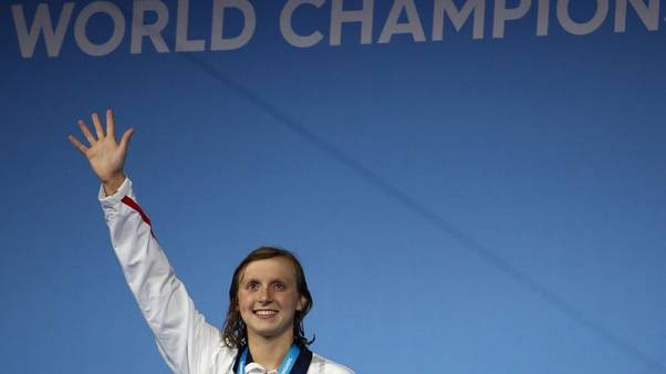 Swimming - Supreme Ledecky better prepared for tough schedule