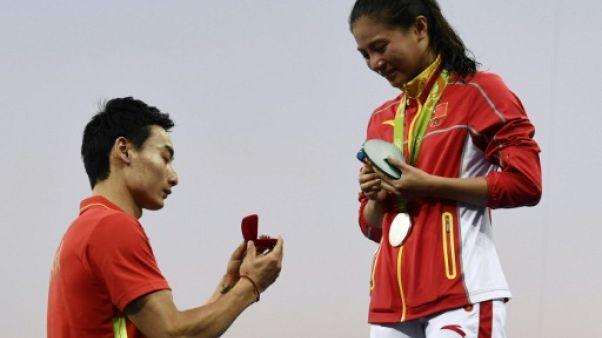 Plongeon: la championne chinoise He Zi prend sa retraite à 26 ans