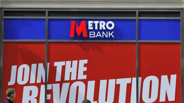 British lender Metro Bank swings to profit in first half