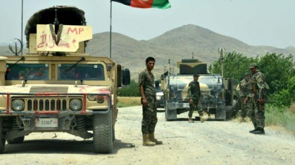 Afghanistan: 26 soldats tués dans l'attaque de leur base par les talibans