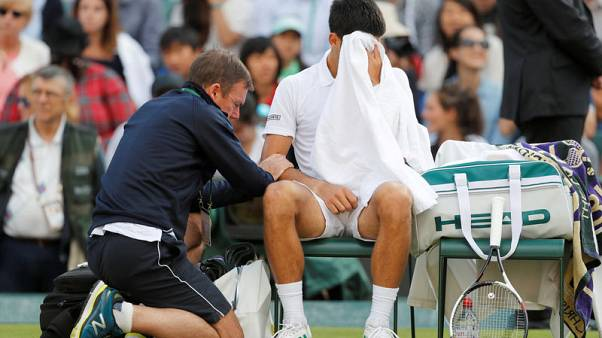Djokovic to miss the rest of the season with elbow injury