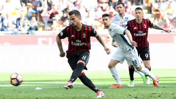 Suso 'non voglio lasciare il Milan'