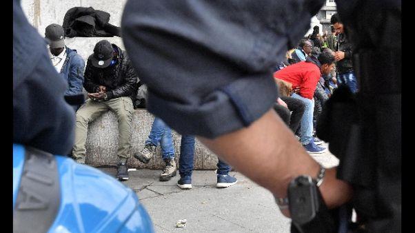 Nuovo blitz forze ordine in Centrale