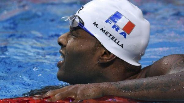 Natation: Metella en finale du 100 m libreavec le meilleur temps (47.65)