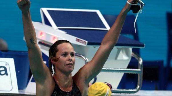 "Natation: ""dernier 200 m nage libre"" pour Federica Pellegrini"