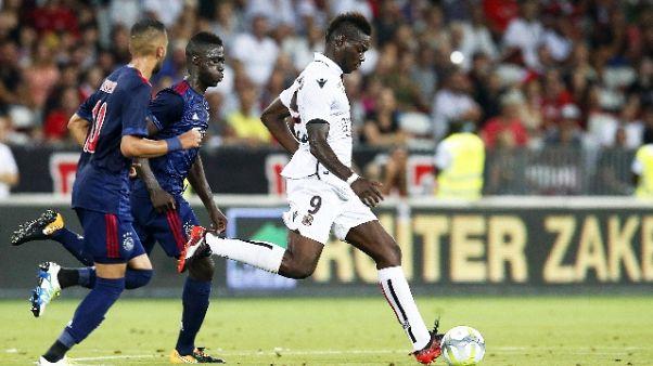 Champions League: Nizza-Ajax 1-1