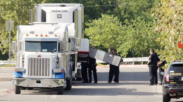 Mexico says seven of its citizens died in sweltering San Antonio truck