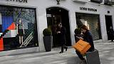 LVMH first-half operating profit up 23 percent, cautious on second half