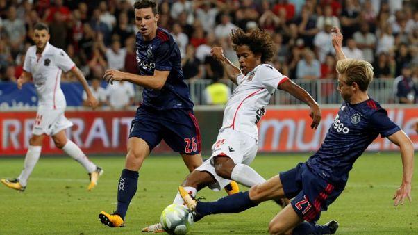 Ajax hold Nice as Celtic falter against Rosenborg