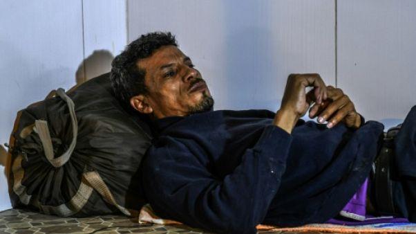 En Colombie, la rue ou un refuge, le calvaire de migrants vénézuéliens