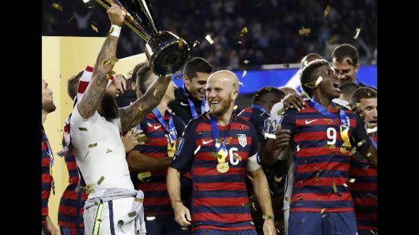 Gold Cup: vittoria Stati Uniti