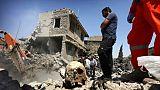 Des ruines à la morgue, les familles à la recherche des disparus de Mossoul