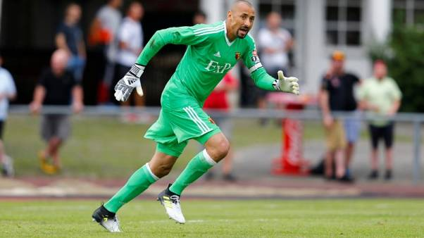 Watford goalkeeper Gomes signs new two-year deal
