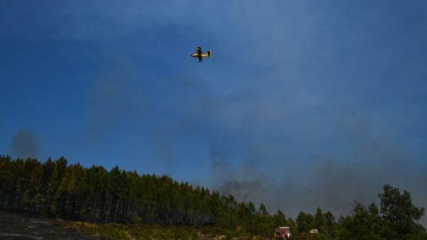 Feux de forêt: légère accalmie au Portugal