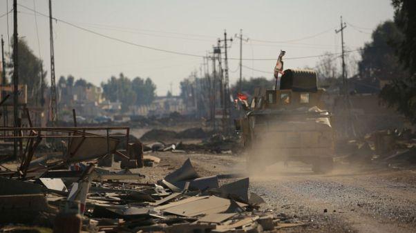U.S.-trained Iraqi army unit committed war crimes in Mosul - HRW