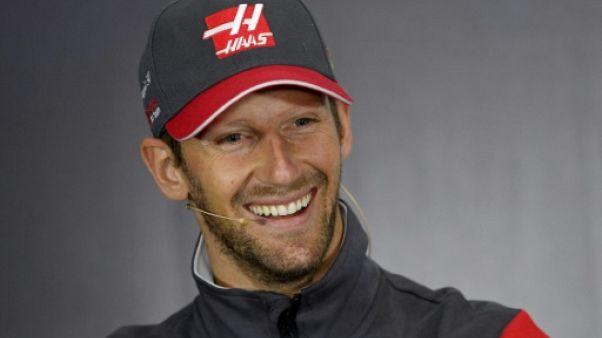 Formule 1: Grosjean restera chez Haas en 2018