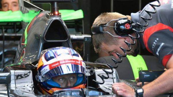 """Grosjean: le """"halo"""" est """"une mauvaise nouvelle"""" pour la Formule 1"""