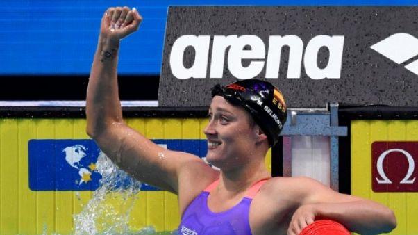 Natation: l'Espagnole Mireia Belmonte championne du monde du 200 m papillon