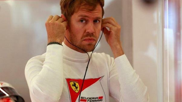 Vettel 'not stressing' as F1 lead slips away