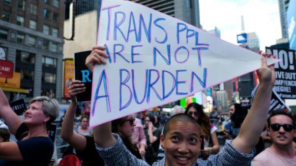 L'interdiction des transgenres dans l'armée américaine semée d'embûches